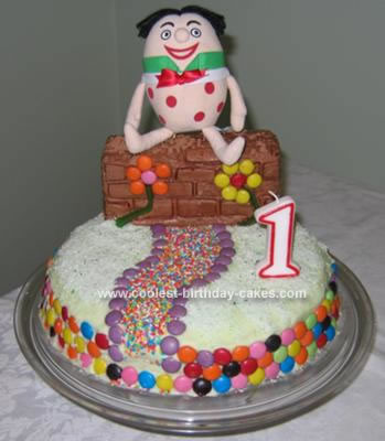 Homemade Humpty Dumpty Cake