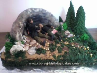 Fantastic Coolest Hunger Games Birthday Cake Funny Birthday Cards Online Elaedamsfinfo