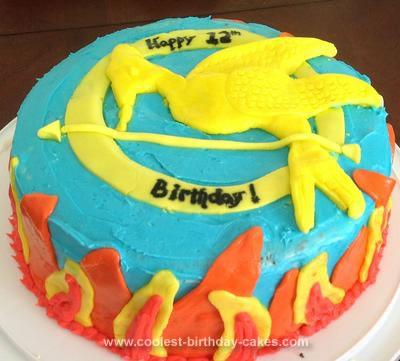 Homemade Hunger Games Cake