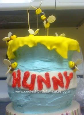 Homemade Hunny Pot Cake