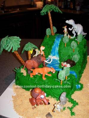 Homemade Ice Age Cake