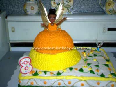 Homemade Idilessa Birthday Cake