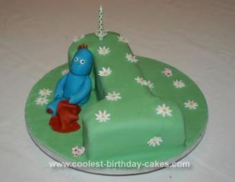 Homemade Iggle Piggle Cake