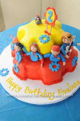 Homemade Imagination Movers Cake