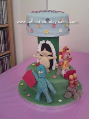 Homemade In The Night Garden Cake