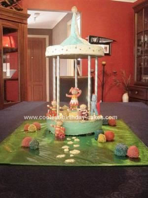 Homemade In The Night Garden Gazebo Cake