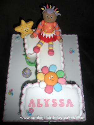 Cool Coolest In The Night Garden Upsy Daisy No 1 Birthday Cake Funny Birthday Cards Online Alyptdamsfinfo