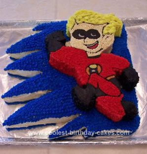 Homemade Incredibles  Cake - Dash