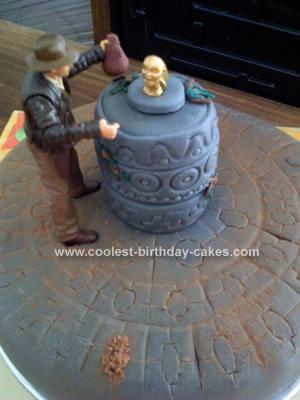 Homemade Indi Birthday Cake