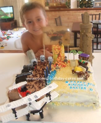 Phenomenal Coolest Indiana Jones Birthday Cake Funny Birthday Cards Online Inifodamsfinfo