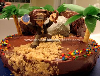 Awesome Coolest Indiana Jones Cake Funny Birthday Cards Online Inifodamsfinfo