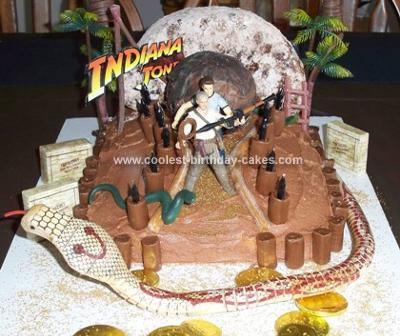 Homemade Indiana Jones Cake