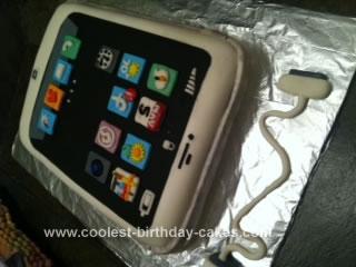 Homemade Iphone Cake
