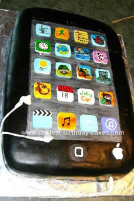 Astounding Coolest Ipod Birthday Cake Design Personalised Birthday Cards Paralily Jamesorg