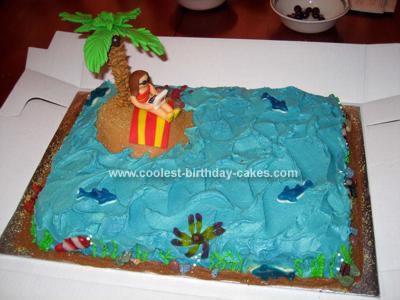 Homemade Island Getaway Cake