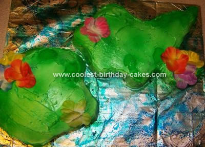 Islands of Fiji Cake