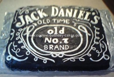 Pleasing Coolest Jack Daniels Birthday Cake Funny Birthday Cards Online Alyptdamsfinfo