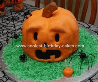 Jack O Latern Cake