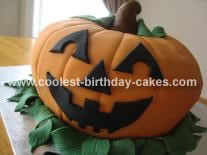 Jack-O-Lantern Cake