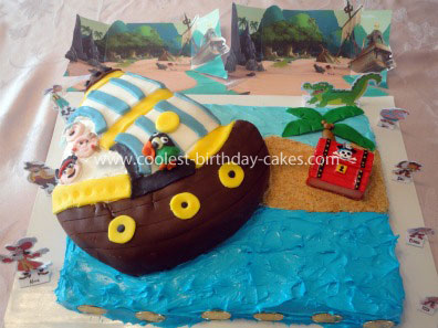 Coolest Jake and the Never Land Pirates Cake