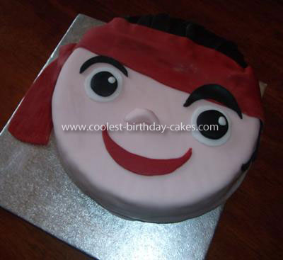 Stupendous Coolest Jake And The Neverland Pirates Birthday Cake Personalised Birthday Cards Epsylily Jamesorg