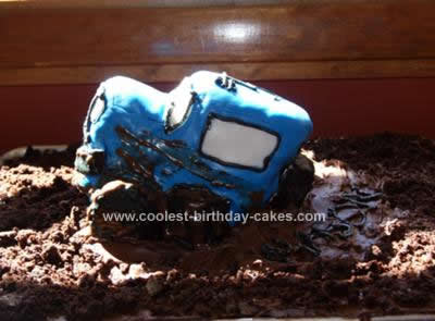 Homemade Jeep Cake