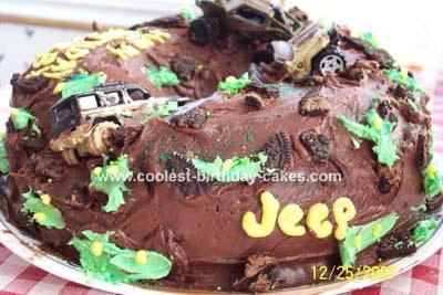 Wondrous Coolest Jeep Cake Funny Birthday Cards Online Aboleapandamsfinfo