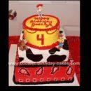 Homemade Jessie and Woody Cake