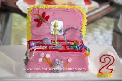 Homemade Jewelry Box Birthday Cake