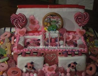 Homemade Jewerly Box Cake