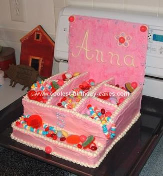 Homemade Jewelry Box Cake