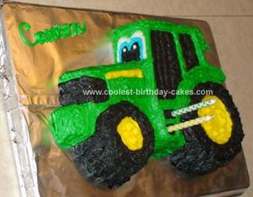 Cool Coolest John Deere Birthday Cake Personalised Birthday Cards Veneteletsinfo