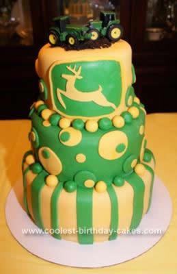 Pleasing Coolest John Deere Birthday Cake Funny Birthday Cards Online Necthendildamsfinfo