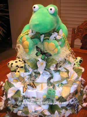 Cool Coolest Kermit The Frog Diaper Cake Funny Birthday Cards Online Sheoxdamsfinfo