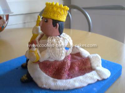 Coolest King Birthday Cake