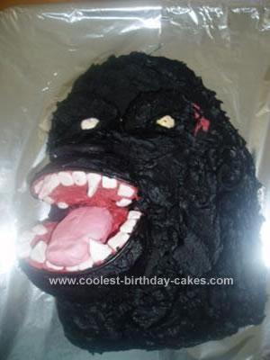 Homemade King Kong Cake
