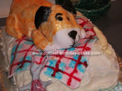 Kipper The Dog Cake