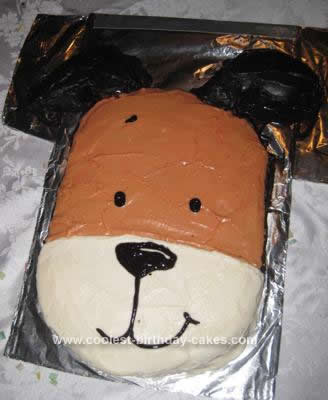 My 2 Year Old Loves Kipper So For His 3rd Birthday He Said Wanted A The Dog Cake