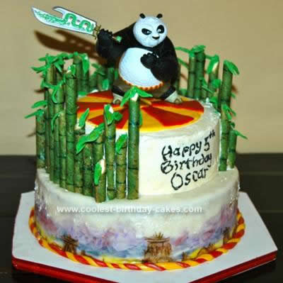 Coolest Kung Fu Panda Cake