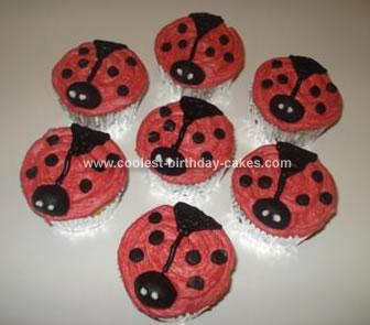 Homemade Ladybug Cupcakes