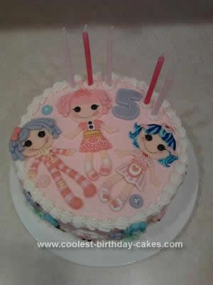 Sensational Coolest Lalaloopsy Birthday Cake Personalised Birthday Cards Rectzonderlifede