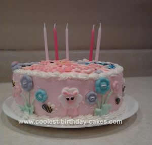 Homemade Lalaloopsy Birthday Cake