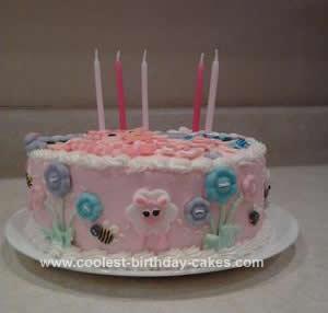 Homemade Lalaloopsy Birthday Cake