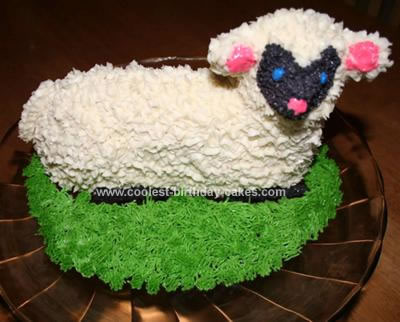 Homemade Lamb Cake