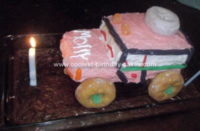 Homemade Land Rover Birthday Cake