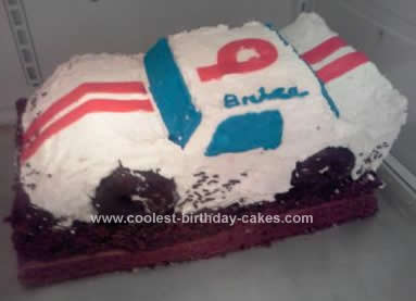 Coolest Model Modified Dirt Track Race Car Birthday Cake