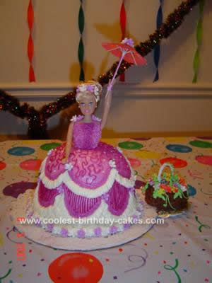 Coolest Lavender Lady Cake Design
