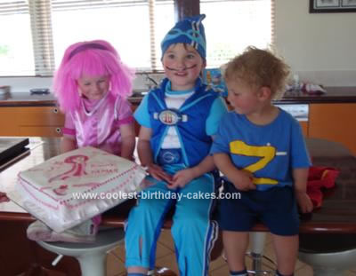 Lazy Town Cake