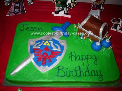 Coolest Homemade Legend Of Zelda Cakes