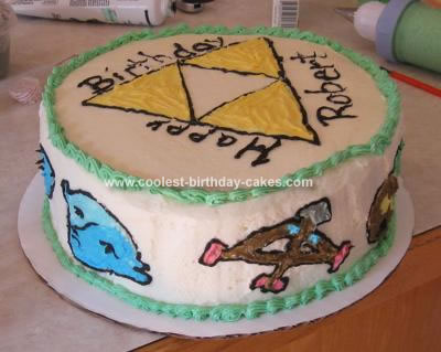 Coolest Legend Of Zelda Cake